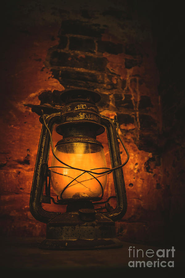 Lantern Photograph - Vintage Colonial Lantern by Jorgo Photography - Wall Art Gallery