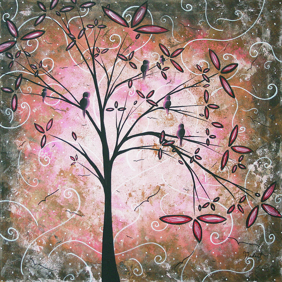Artwork Painting - Vintage Couture By Madart by Megan Duncanson