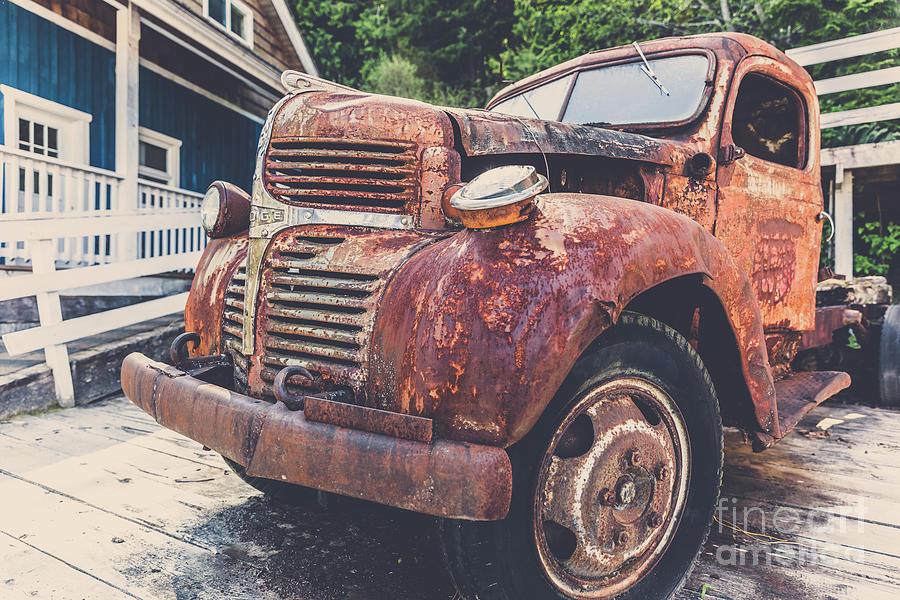 Vintage Dodge Photograph