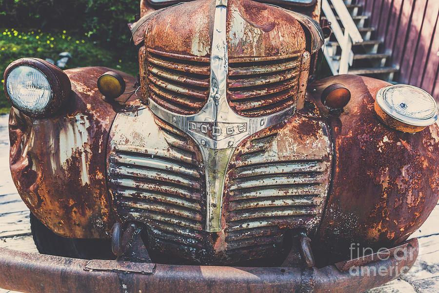 Vintage Dodge Truck by Alanna DPhoto