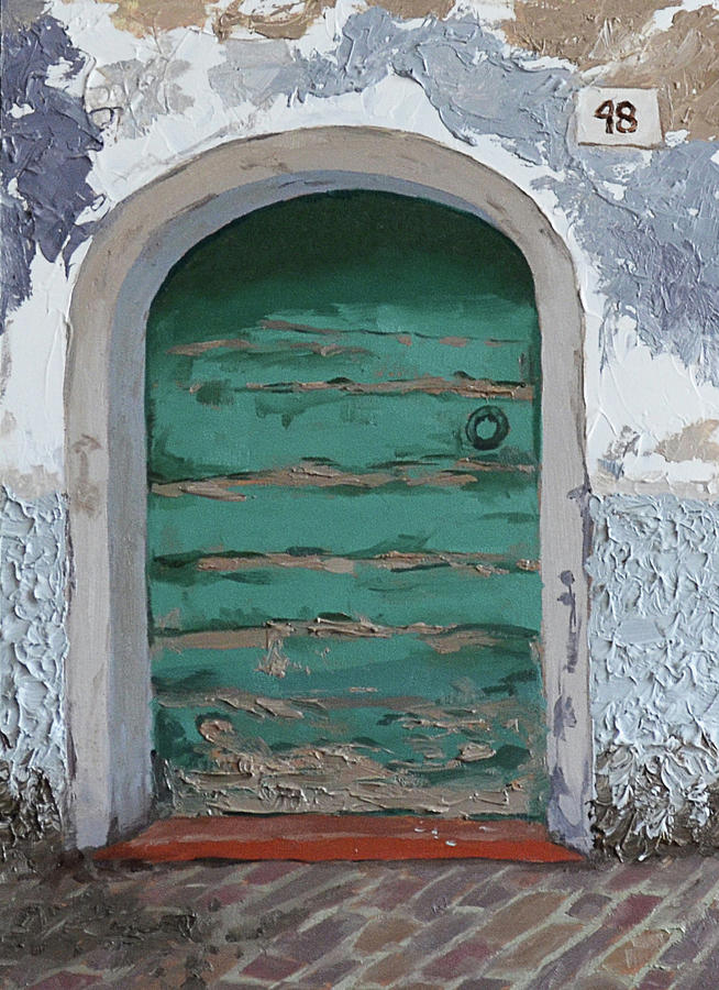 Vintage Series #2 Door by Jan Christiansen