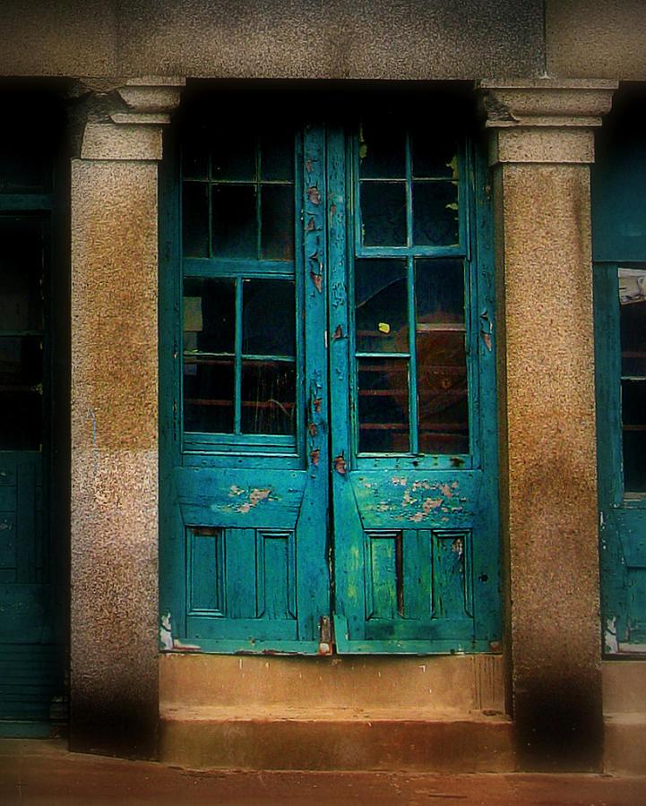 Door Photograph - Vintage Doors by Perry Webster