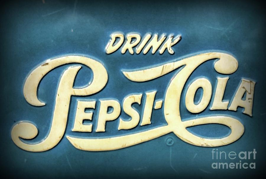 Vintage Drink Pepsi Cola Cooler by Paul Ward