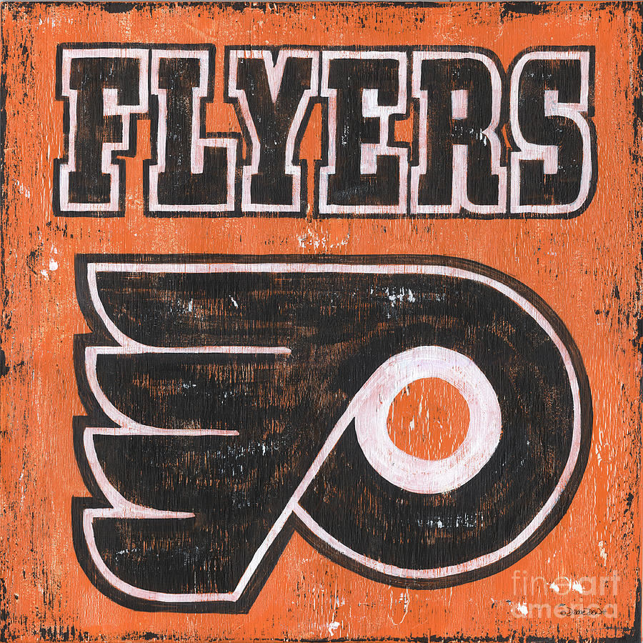 Vintage Flyers Sign Painting