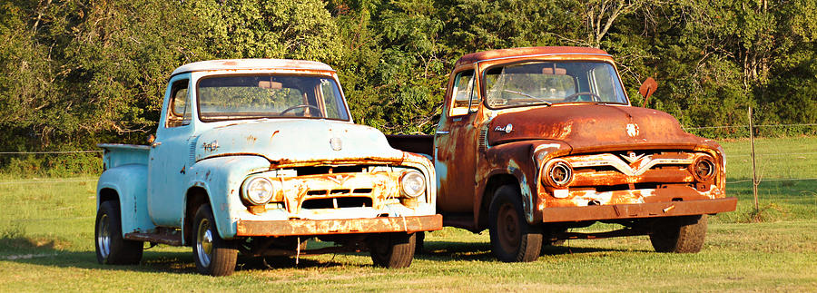 Vintage ford pick up good question