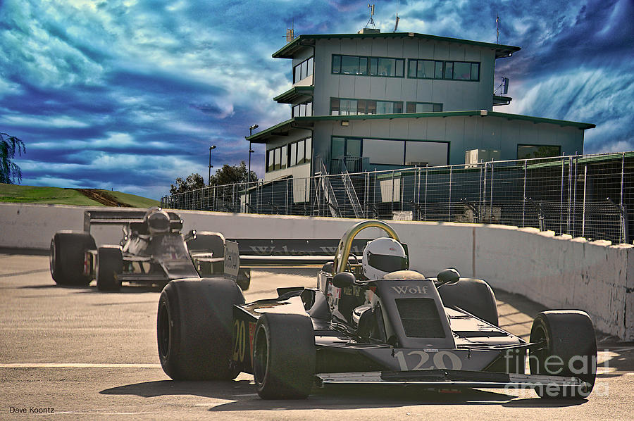 Vintage Formula One Race Cars I Photograph By Dave Koontz