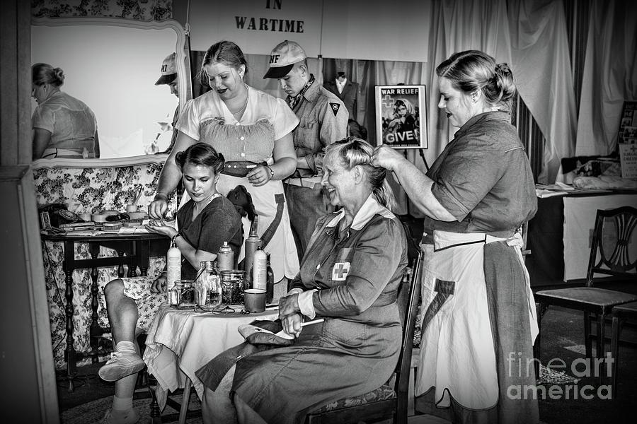 Paul Ward Photograph - Vintage Hair Dresser by Paul Ward