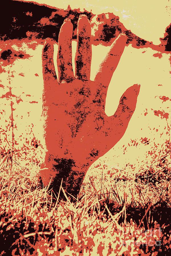 Dark Photograph - Vintage Horror Poster Art  by Jorgo Photography - Wall Art Gallery