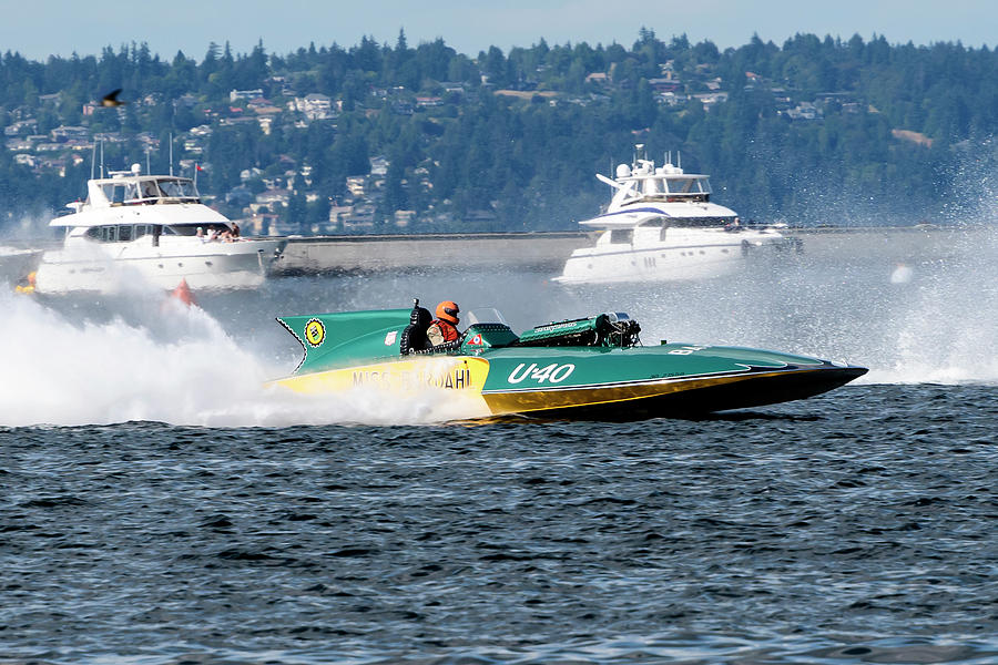 Vintage Hydroplane Racing At Seattle Seafair 2018