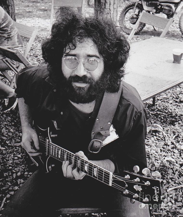 Vintage Jerry Garcia Photograph