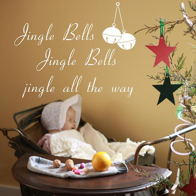 Christmas Photograph - Vintage Jingle Bells by Linda C Johnson