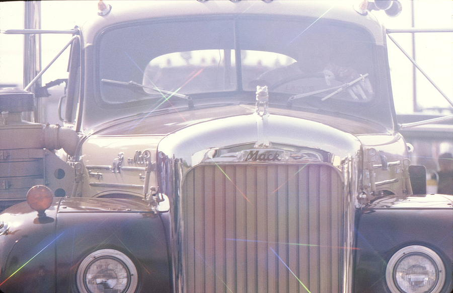 Mack Truck Photograph - Vintage Mack by Don Youngclaus
