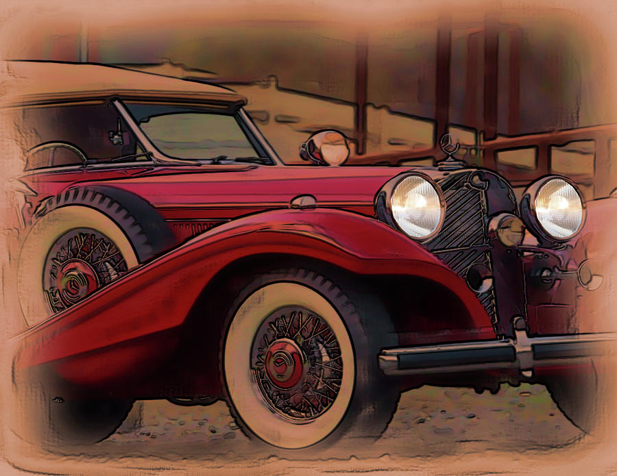 Vintage Mercedes by Tristan Armstrong