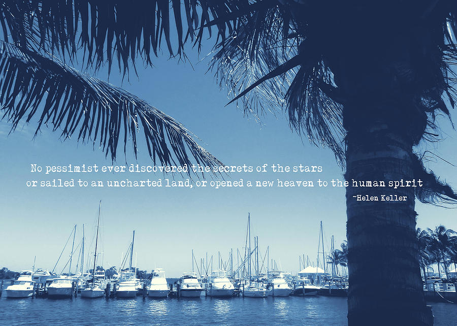Miami Photograph - Vintage Miami Quote by JAMART Photography