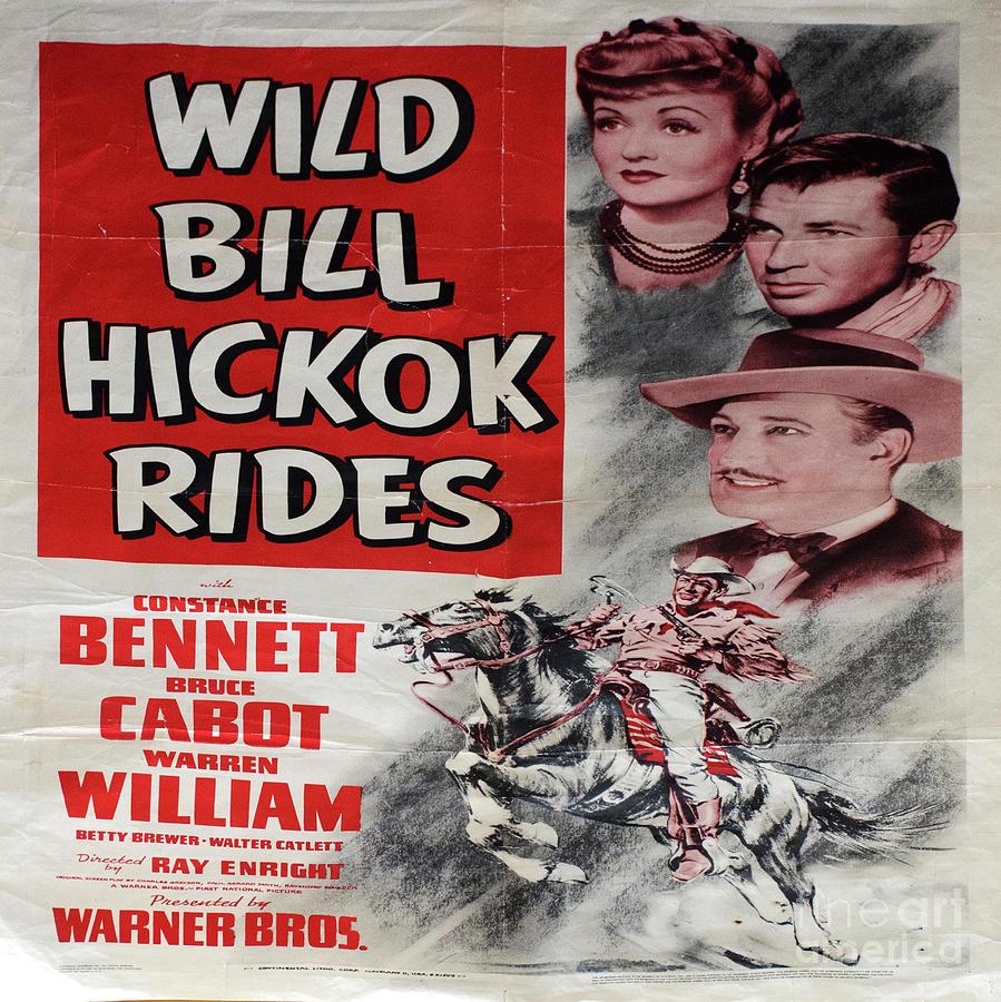 Vintage Photograph - Vintage Movie Poster 2 by Bob Christopher