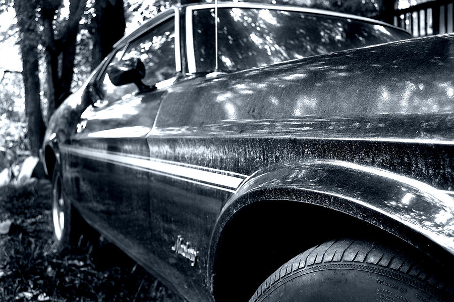 Vintage Car Photograph - Vintage Mustang by Heather S Huston