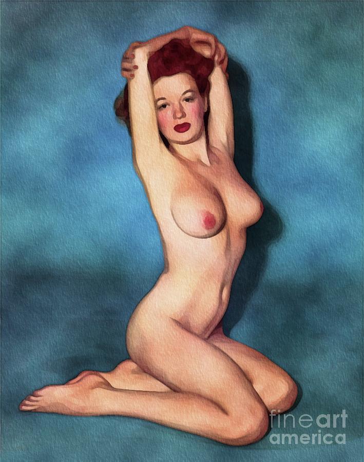 Pin up models naked