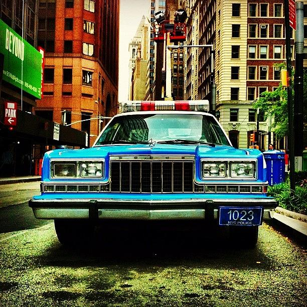 Dodge Photograph - Vintage Nypd. #car #nypd #nyc by Luke Kingma
