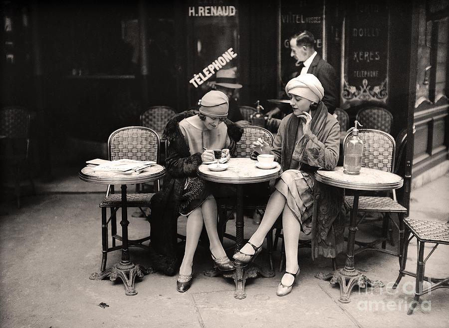 vintage paris cafe painting by mindy sommers rh pixels com  photography paris cafe