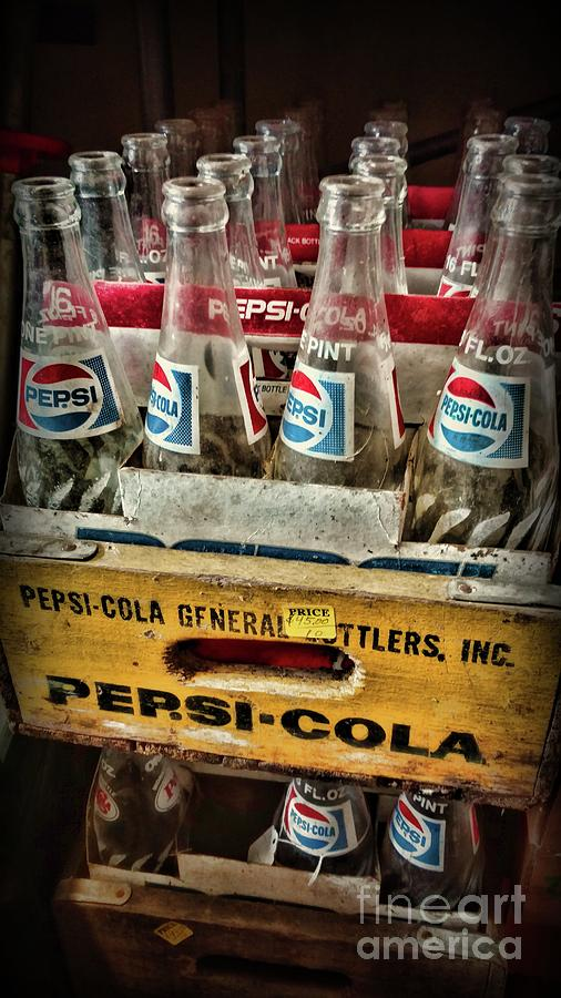 Paul Ward Photograph - Vintage Pepsi 8 Pack  by Paul Ward