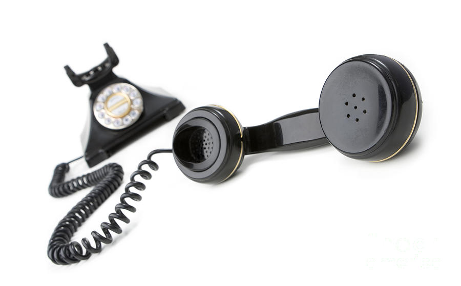 Aged Photograph - Vintage Phone  by Igor Kislev