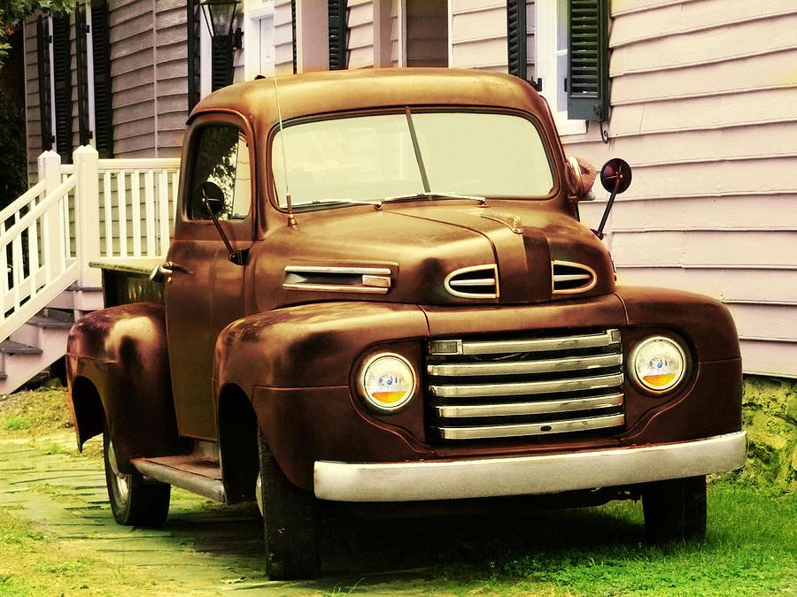 Vintage Pick Up Truck Photograph by Digital Art Cafe