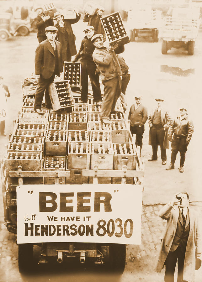 Vintage Prohibition Image Photograph