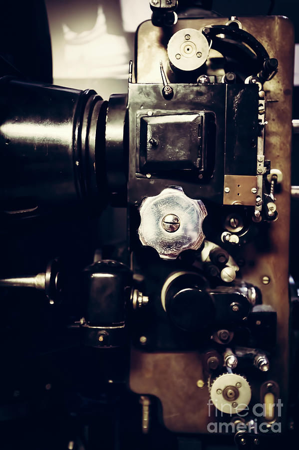 Movie Photograph - Vintage Projector From Previous Century. by Michal Bednarek