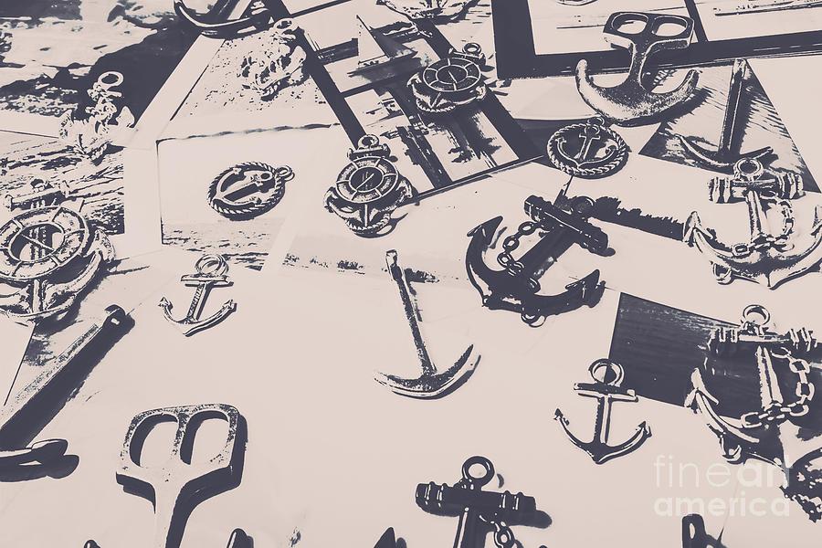 Nautical Photograph - Vintage Sailing Art by Jorgo Photography - Wall Art Gallery