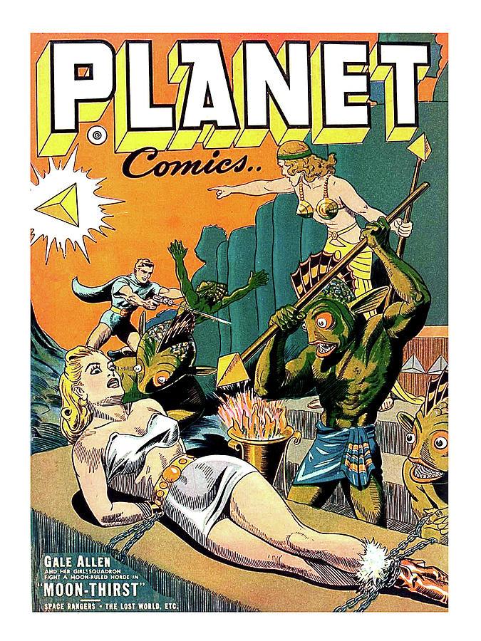 sci fi comic book covers