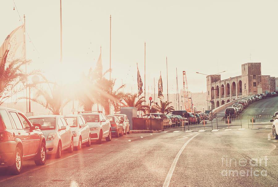 Vintage Street Of Malta Photograph
