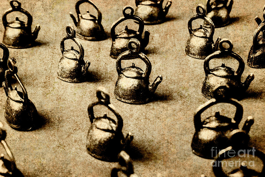 Vintage Teapot Party Photograph by Jorgo Photography - Wall Art Gallery