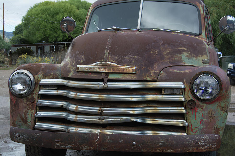New Mexico Photograph - Vintage Truck - 1 by Lea Rhea Photography