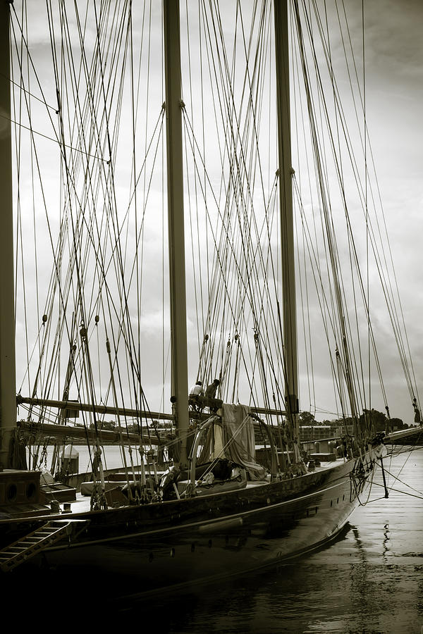 Vintage Vessel Photograph By Nancy Forehand