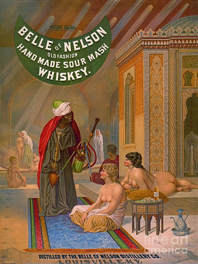 Vintage Whiskey Advertisement 1883 Photograph - Vintage Whiskey Ad 1883 by Padre Art