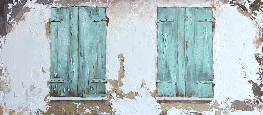 Vintage Series #1 Windows by Jan Christiansen