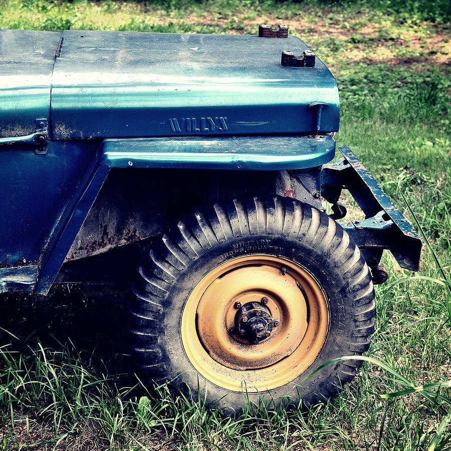 Jeep Photograph - Vintage Wllys Cj-2a Jeep by Luke Moore
