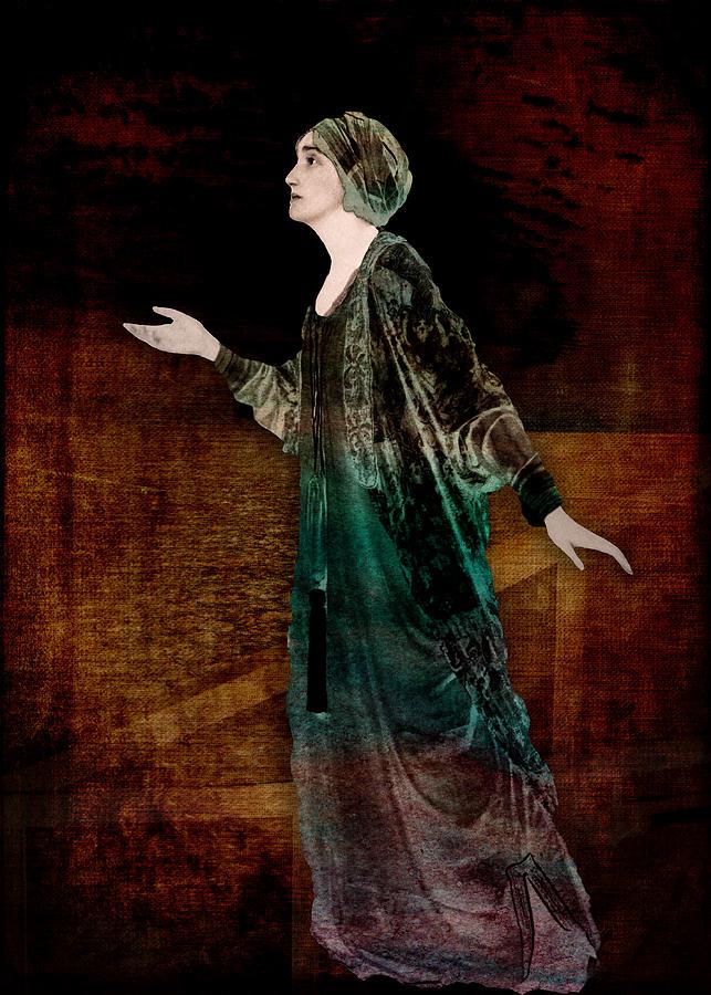 Actress Digital Art - Viola Translated by Sarah Vernon