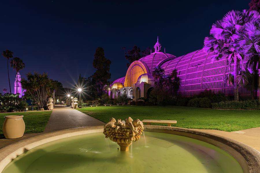 Balboa Park Photograph - Violet Castles by TM Schultze