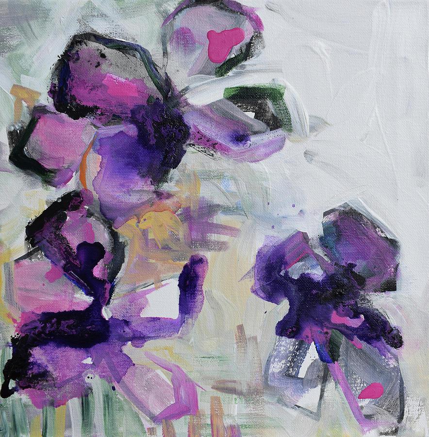 Violet Shadows by Karen Ahuja