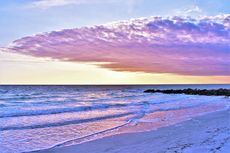 Violet Photograph - Violet Skies At Nighfall by C Sev Photography