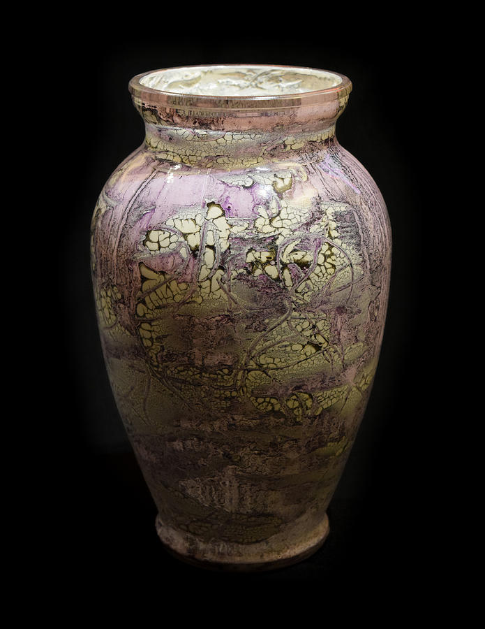 Violet Vase by Christopher Schranck
