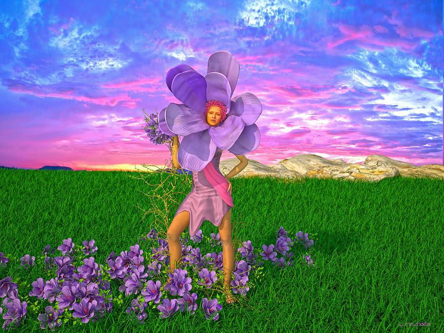 Violet by Williem McWhorter