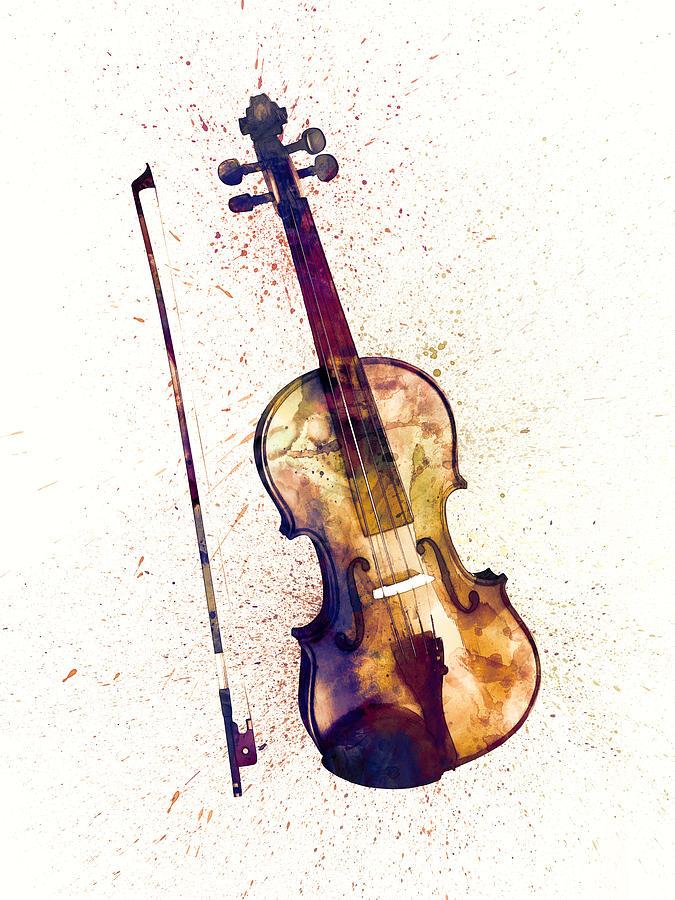 Musical Instrument Digital Art