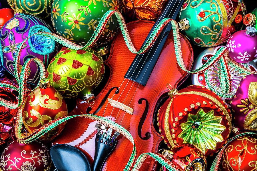 Christmas Violin.Violin Christmas Celebration