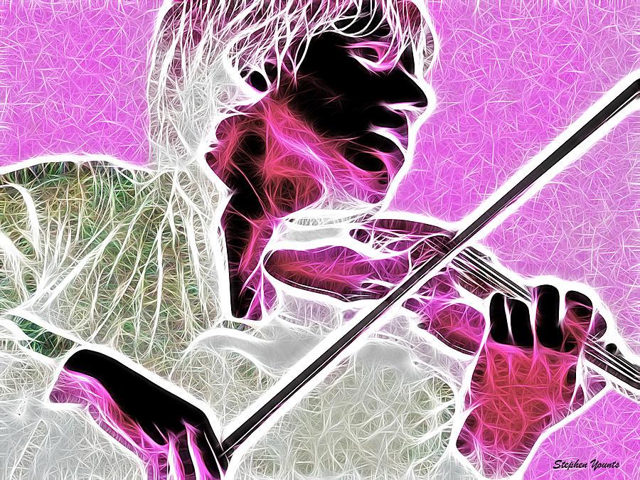 Violin Digital Art - Violin by Stephen Younts
