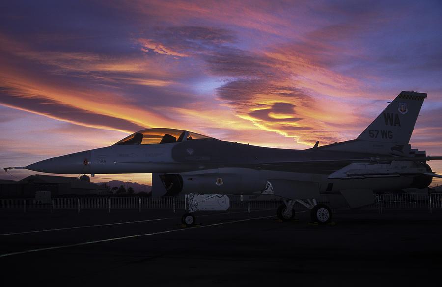Force Photograph - Viper Sunset by John Clark