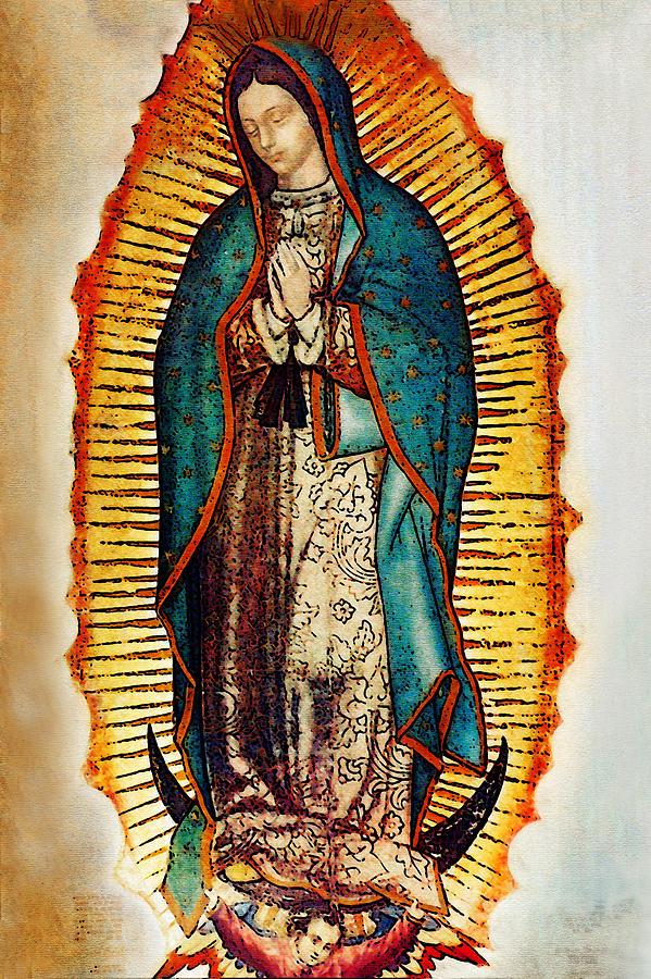 Virgen de guadalupe photograph by bibi rojas - Images of la virgen de guadalupe ...