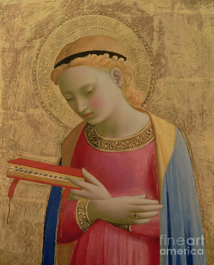 Virgin Annunciate Painting - Virgin Annunciate by Fra Angelico