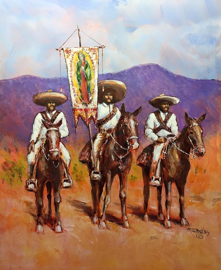 Virgin de Guadalupe by Ronald Shelley